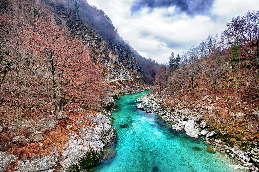 Il fiume pi bello del mondo si trova in slovenia - Il bagno piu bello del mondo ...