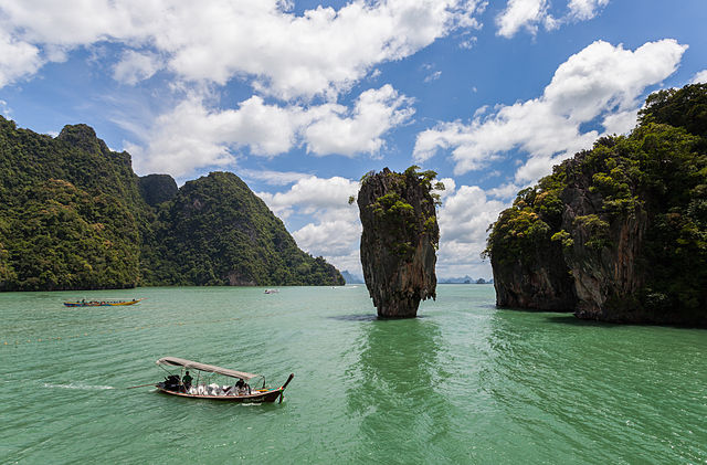 Khao Phing Kan, Thailandia (Foto da Wikipedia).