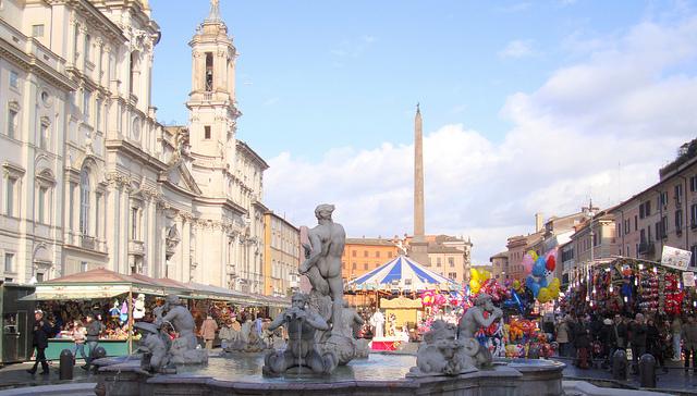 Mercatini di natale in italia for Mercatini antiquariato roma
