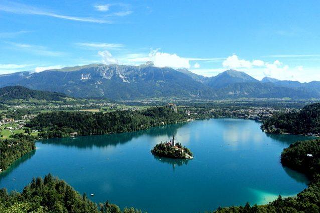 Veduta del Lago di Bled – Foto Wikimedia Commons
