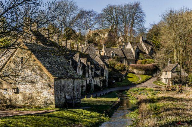 Bibury un villaggio da fiaba in inghilterra for Planimetrie inglesi del cottage