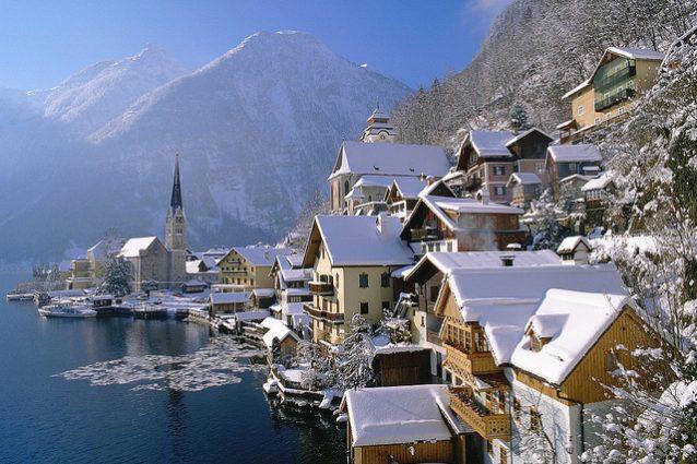 Hallstatt in inverno – Foto pan.li53