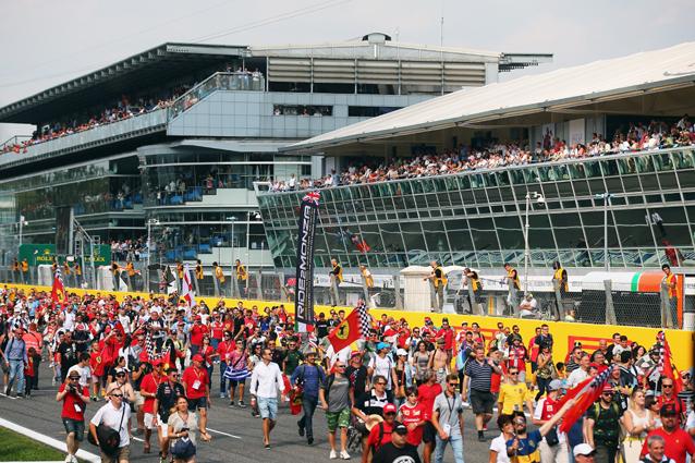 Formula 1, Gp Monza. Sticchi Damiani: