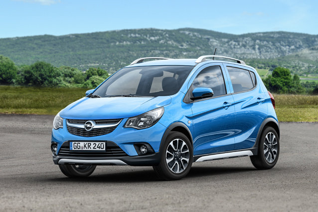 Opel Karl Rocks: una veste da SUV per la citycar Opel