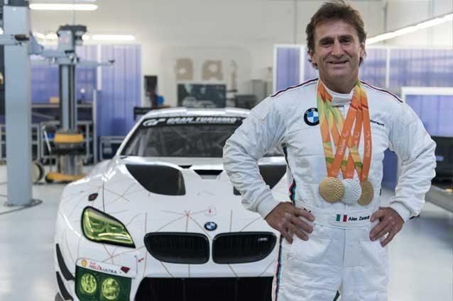 Zanardi torna in gara Al Mugello con la BMW M6