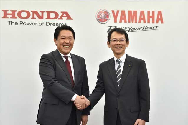 Alleanza negli scooter per i due rivali storici — Honda-Yamaha