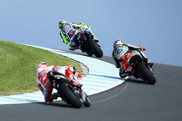 Moto GP. Philipp Island, Rossi: