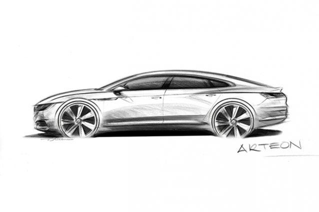 Volkswagen Arteon: la coupé a quattro porte erede della CC