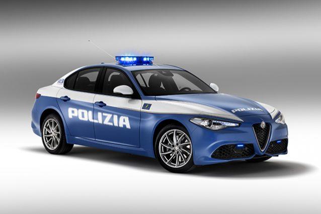 Nuova flotta polizia con Jeep e Alfa