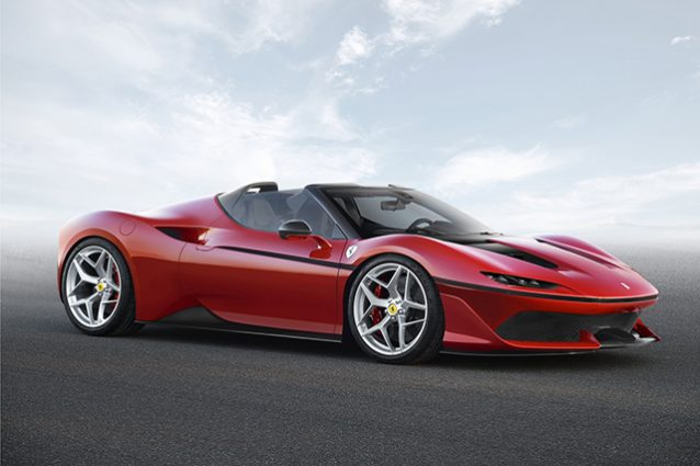 Ferrari: la roadster J50