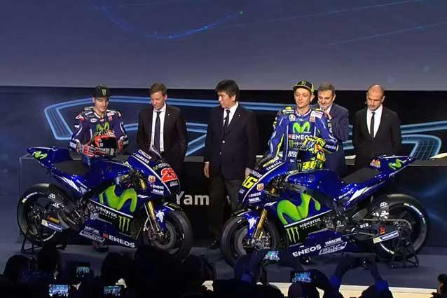 Moto Gp: svelata la nuova Yamaha di Rossi e Viñales