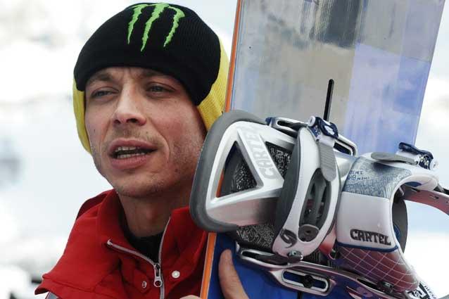 Valentino Rossi, Incidente stradale a Madonna di Campiglio