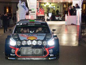 Hayden Paddon al via del Rally di Monte–Carlo – Getty
