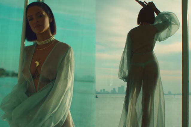 Rihanna hot nel nuovo video