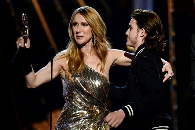 Céline Dion ai Billboard Awards 2016