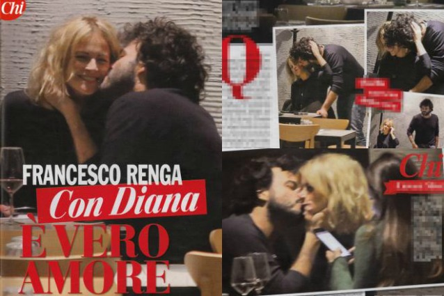 Francesco renga bacia e coccola diana poloni vero amore for Diana polloni