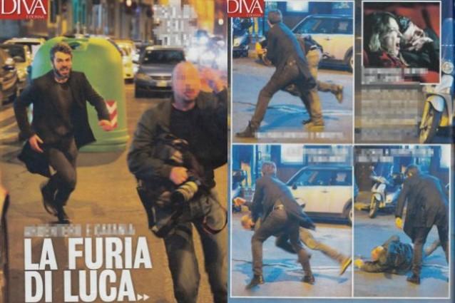 Luca Argentero furioso, aggredisce un fotografo e lo manda in ospedale: querelato l'attore