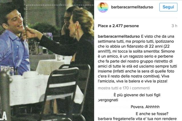 Gossip, Barbara D'Urso sta con un modello 22enne? La smentita su Instagram