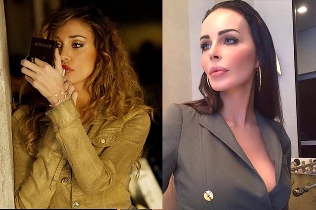 Belen Rodriguez querela Nina Moric: è guerra