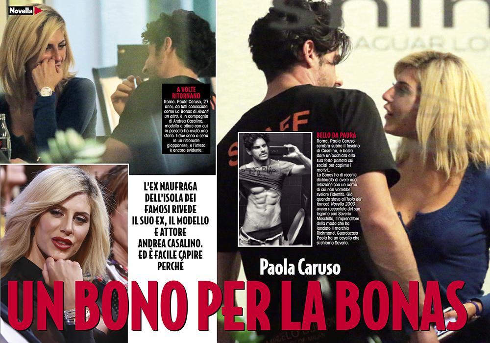 Paola Caruso Fidanzata con un Noto Ex Tronista, Lui è