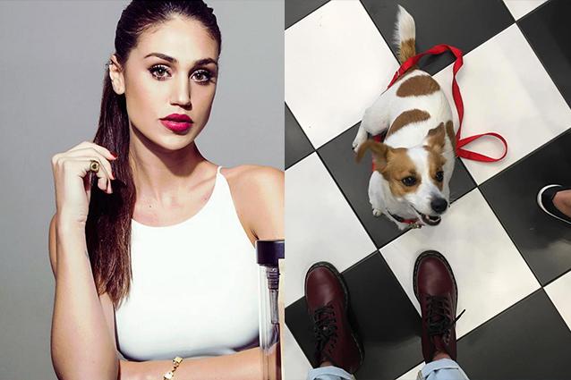 Cecilia Rodriguez ha smarrito il suo cane: