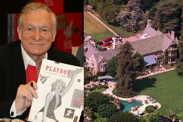 Playboy, 100 milioni di dollari la villa di Hugh Hefner