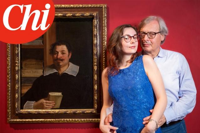 Vittorio Sgarbi presenta la figlia segreta Alba: