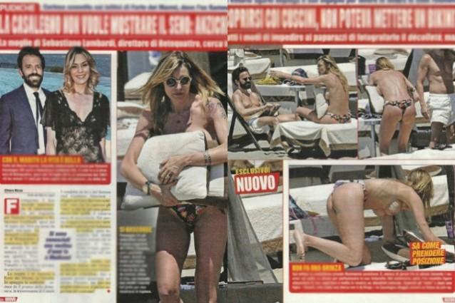 Sebastiano Lombardi: Elenoire Casalegno hot per il marito