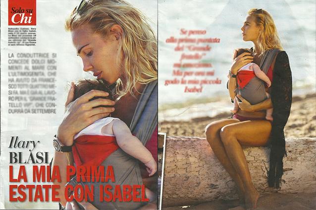 Ilary Blasi mamma in super forma in bikini a Sabaudia