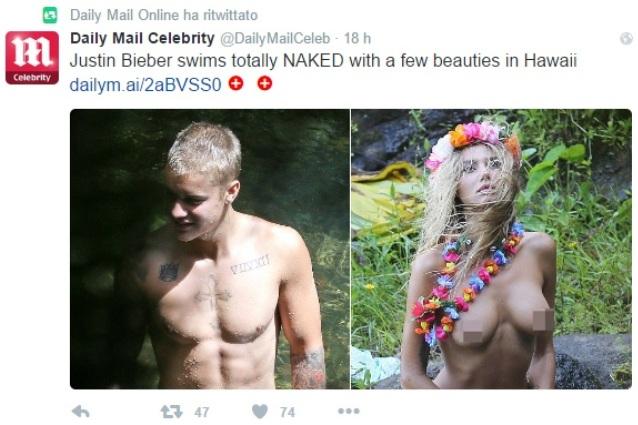 Orlando Bloom, vacanze italiane da nudista con Katy Perry