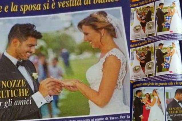 Tara e Cristian prime foto del doppio matrimonio