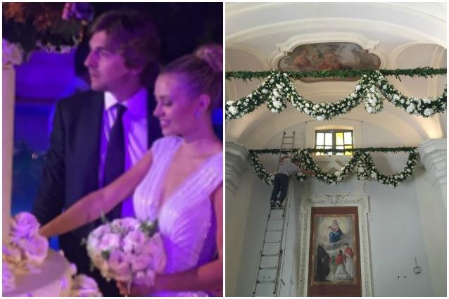 Martina Stella si è sposata: Matrimonio con Andrea Manfredonia a Sutri