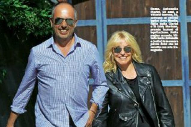 Antonella Clerici felice con Vittorio Garrone: Eddy Martens è una storia finita