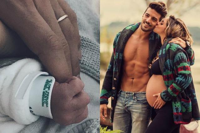 Mariano Di Vaio, il figlio neonato ha già un account Instagram