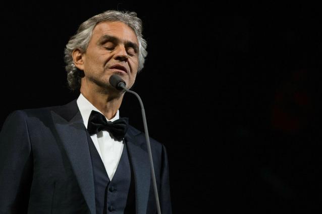 Andrea Bocelli - il mio cinema, il 10 dicembre su Rai 1