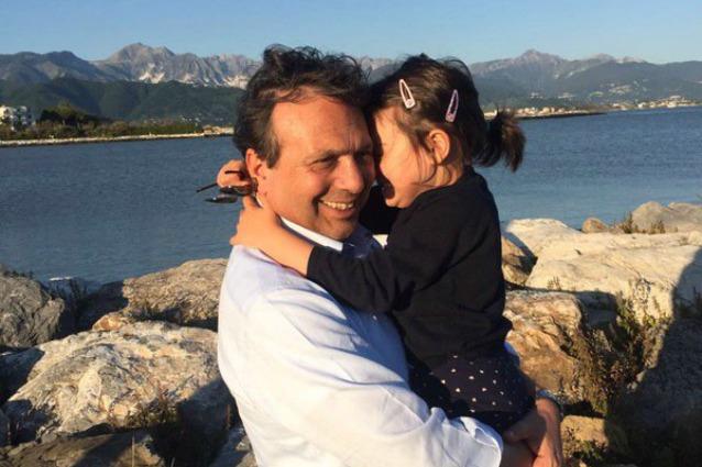 Piero Chiambretti in tribunale: risolta la contesa per l'affidamento della figlia