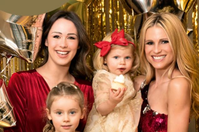 Michelle Hunziker: le figlie il dono più grande della sua vita