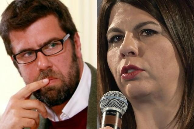 Geppi Cucciari accusata dal marito: