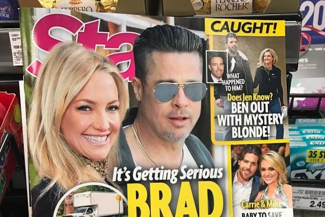 Brad Pitt fidanzato segreto di Kate Hudson? Oliver Hudson ci scherza su
