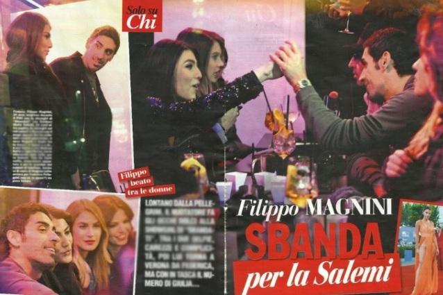 Gossip news, Filippo Magnini beccato con Giulia Salemi. Non c'è la Pellegrini