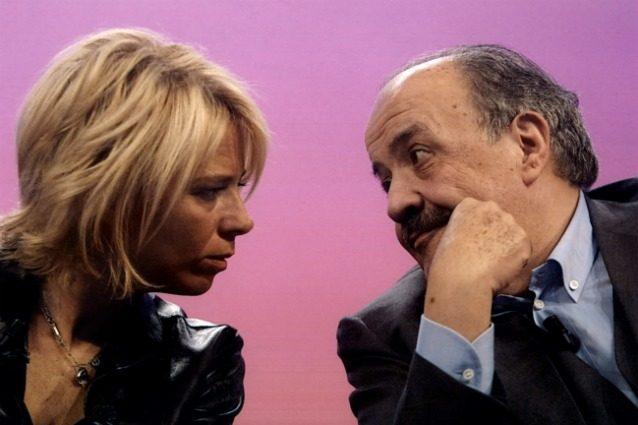 Sanremo 2017: Maria De Filippi aiutata da Maurizio Costanzo e Piersilvio Berlusconi