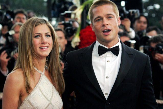Jennifer Aniston e Brad Pitt si scambiano messaggi