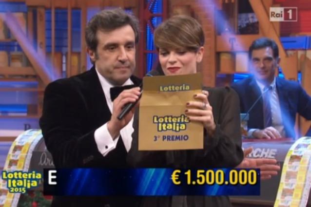 Venduti 8,7 milioni di biglietti della Lotteria Italia 2015