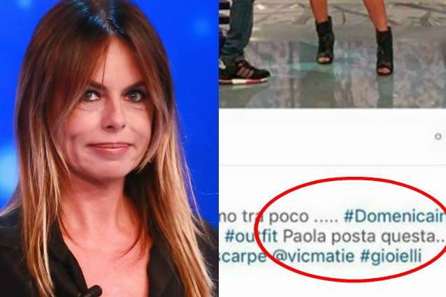 Paola Perego sgarra su Instagram e viene smascherata da Selvaggia Lucarelli