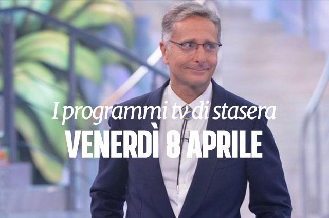 Stasera in tv programmi 8 aprile 2016 - Programmi di cucina in tv oggi ...