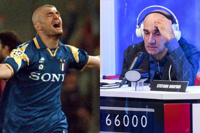 Rischiatutto, Stefano Orofino e risposta decisiva su Juve…