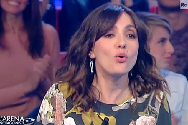 Ambra Angiolini a 'L'Arena': 'Sono rimasta a Brescia per amore'