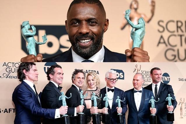 Hollywood, gli attori premiano DiCaprio