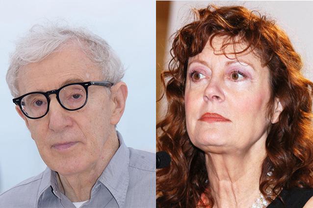 Susan Sarandon contro Woody Allen: