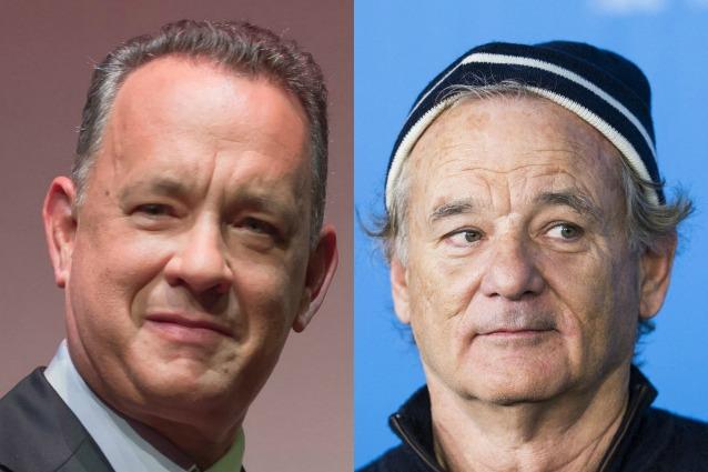 In questa foto c'è Bill Murray o Tom Hanks?